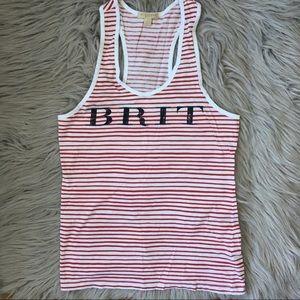 Burberry Brit Stripes Tank Top